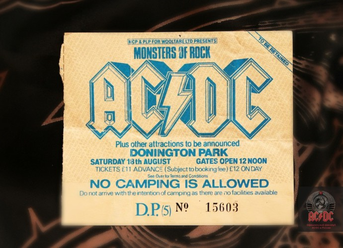 ACDC на Monsters Of Rock