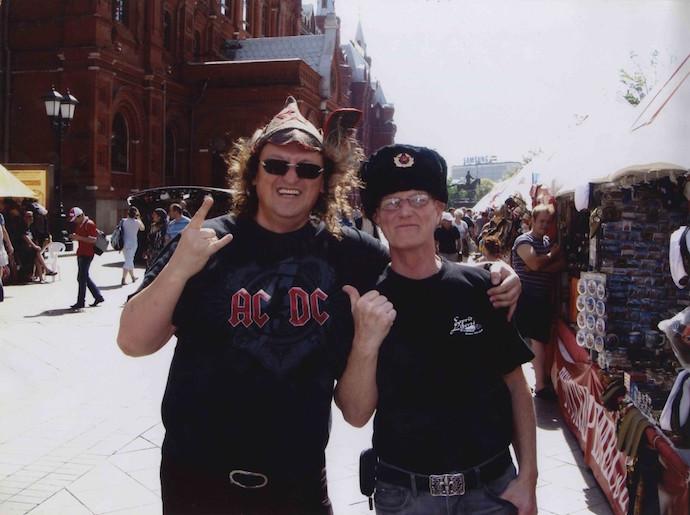 AC/DC в России