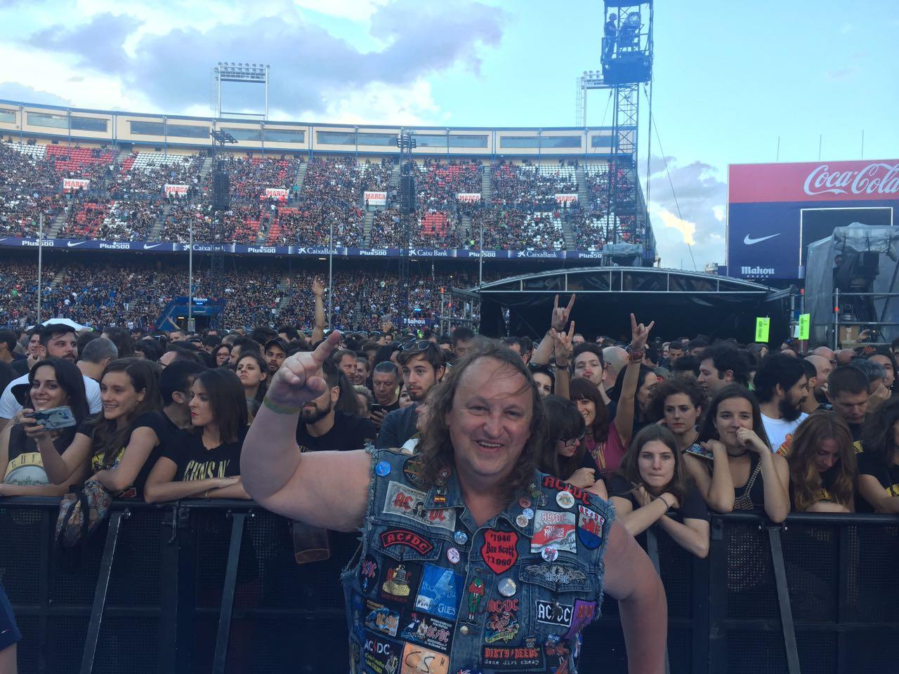 Концерт Guns N' Roses 2017
