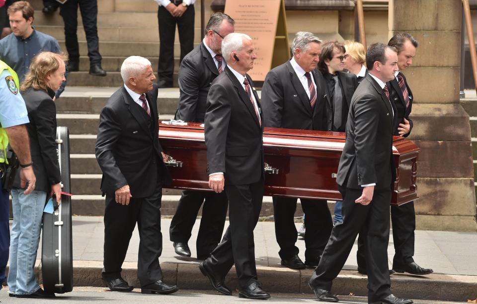похороны Малькольма Янга