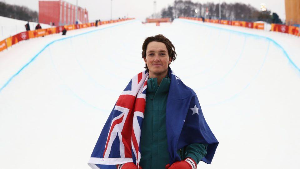 Сноубордист из Австралии