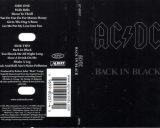 Back In Black на кассетах