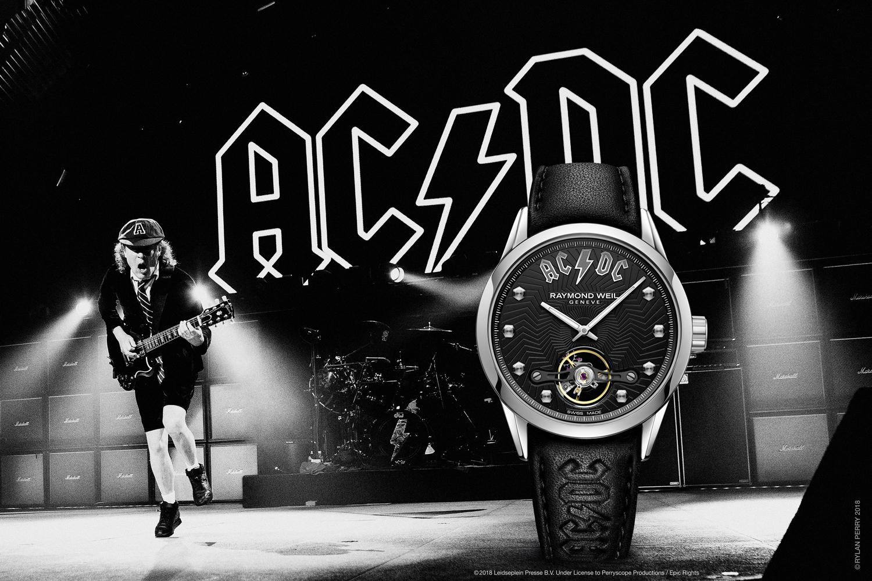 часы AC/DC
