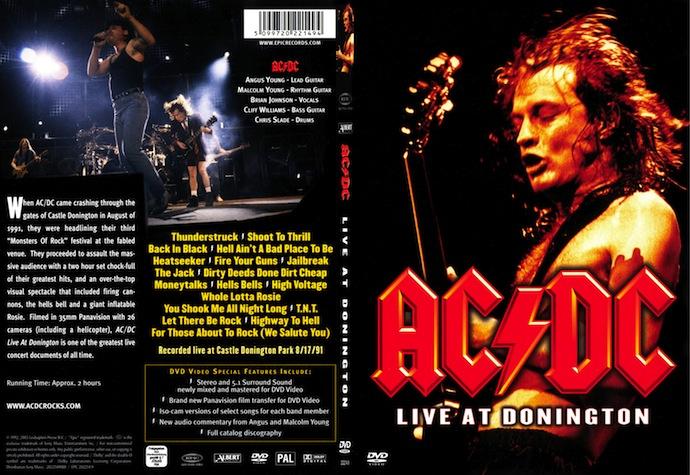 11 лет DVD «Live at Donington»