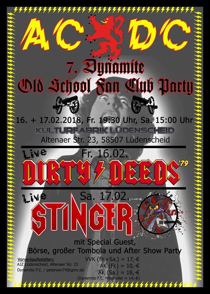 Old School Fan Club Party в Германии
