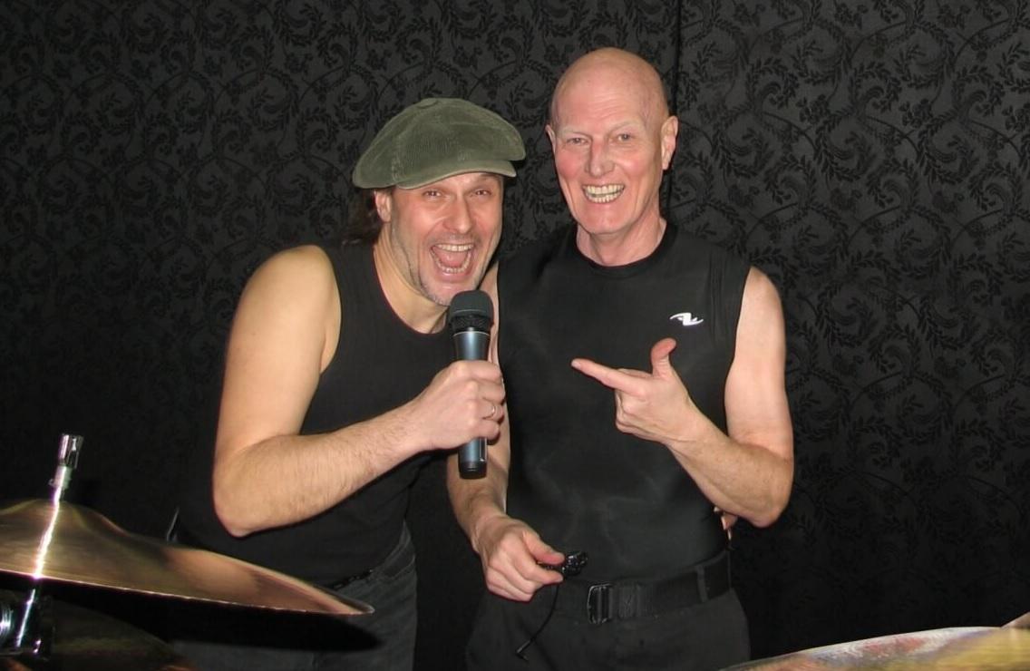 Андрей Соколов и Крис Слейд